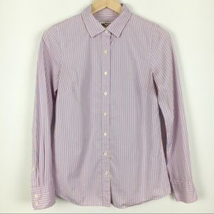 J.Crew Thomas Mason Striped Shirt Size 0